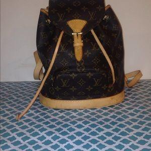 Louis Vuitton backpack purse